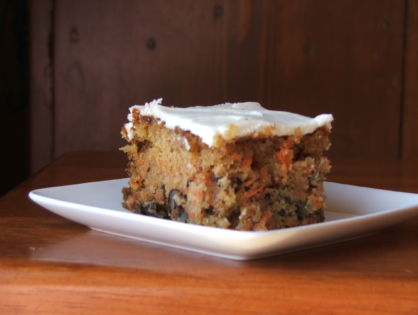 Time Capsule #4 - Moist Carrot Cake Recipe