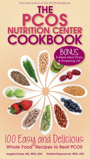 PCOS Nutrition Center Cookbook Cover