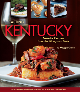 Cover Image Tasting Kentucky Cookbook Nov 15