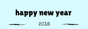 Happy new Year 2016 Email Header