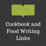 Cookbook and Food Writing Links