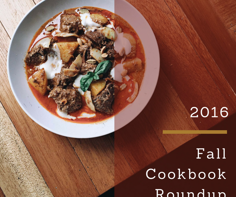 Fall Cookbook Roundup