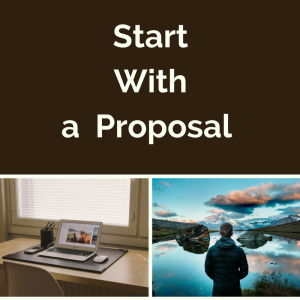 Start with a Proposal