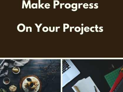 Secrets to Cookbook Writing Progress