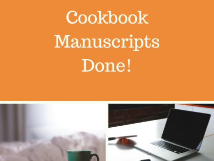 Cookbook Manuscripts Done!