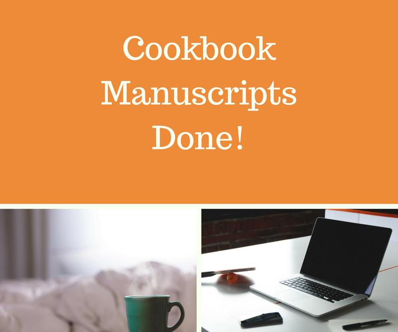 Cookbook Manuscripts Done!