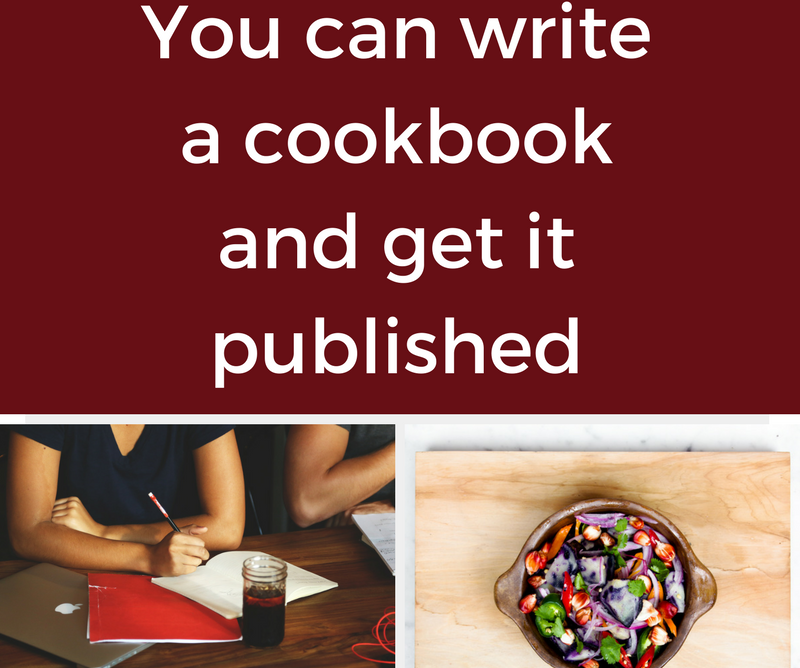 You can write a cookbook and get it published