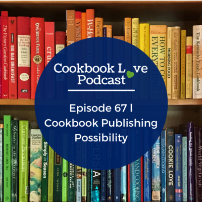 Episode 67 l Cookbook Publishing Possibility