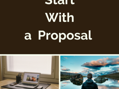 Want to Write a Food Memoir: Start With a Proposal