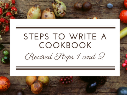 How To Write A Cookbook Revisited